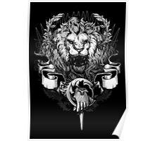 Lannister Lion Poster