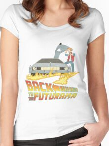 Back To The Futurama Women's Fitted Scoop T-Shirt