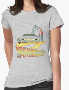 Back To The Futurama Womens Fitted T-Shirt