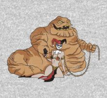 Princess Harley and Clayface The Hut by smashbolt