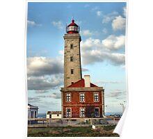 Lighthouse Penedo da Saudade Poster