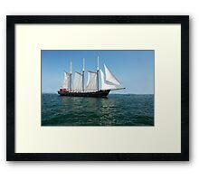 Tall Ship Kajama Framed Print