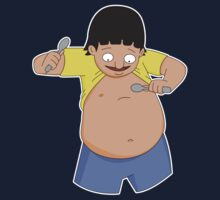 Gene Belcher Plays Belly Spoons - Bob's Burgers by LukeSimms