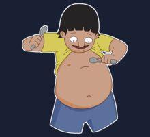 Gene Belcher Plays Belly Spoons - Bob's Burgers by LukeSimms