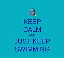 Just Keep Swimming 2 by Jemma Baalham