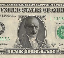Walter White - Dollar Bill by beggsandcheese