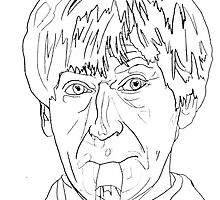 Patrick Troughton - 2nd Doctor by natashadeacon