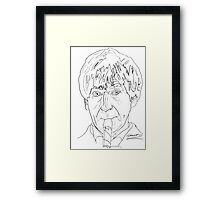 Patrick Troughton - 2nd Doctor Framed Print