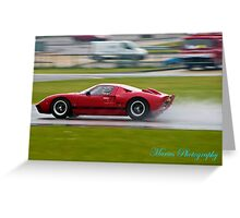 Sport Car history Greeting Card