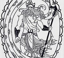 Poseidon - invert by MrsTreefrog