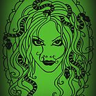Medusa Green by MrsTreefrog