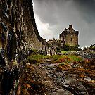 Eilean Donan Castle - The Wall by Stuart Blance