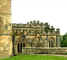 Durham Cathedral - Side by BlueMoonRose