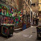 Alleyway Grafitti by WendyJC