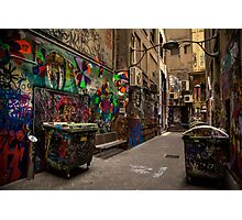 Alleyway Grafitti Photographic Print