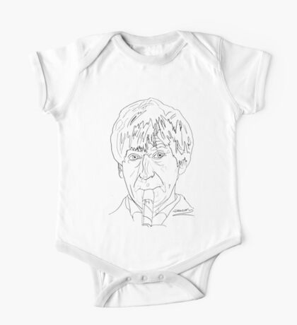 Patrick Troughton - 2nd Doctor One Piece - Short Sleeve