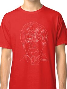 Patrick Troughton - 2nd Doctor (white) Classic T-Shirt