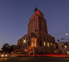 J Street - Downtown Sacramento by Richard Thelen