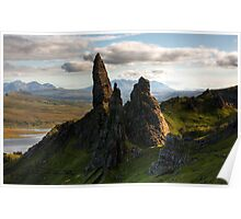The Old Man of Storr (Scotland) Poster