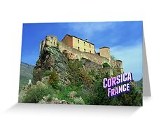 Corsica Greeting Card