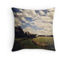 Upstate Fields Throw Pillow
