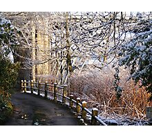 Ironbridge Shropshire South Underpass Photographic Print
