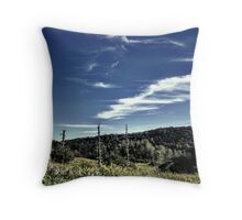 Upstate Field & Lake Throw Pillow