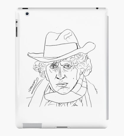 Tom Baker - 4th Doctor iPad Case/Skin