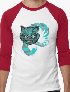 Grinning like a Cheshire Cat Men's Baseball ¾ T-Shirt