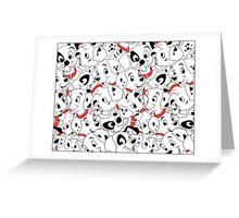 101d Pattern! Greeting Card