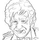 Jon Pertwee - 3rd Doctor by natashadeacon