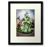 Beanstalk Framed Print