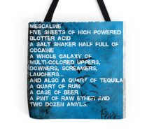 Fear and Loathing Minima Tote Bag