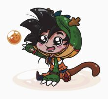 Lil' Dragon Goku by Germandark