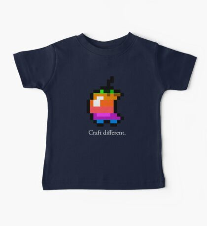 Craft different.  Baby Tee