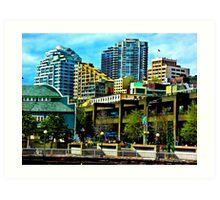 Downtown Seattle  Art Print