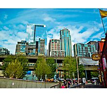 Downtown Seattle City Photographic Print