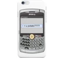 Neutral text Hotel iPhone Case/Skin