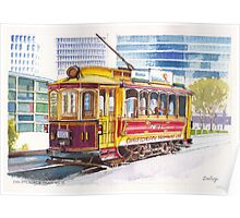 Christchurch Number 11 Tram Poster