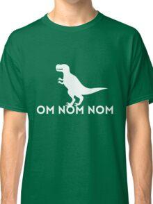 Dinosaur. Om Nom Nom Classic T-Shirt