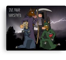 The Four Horsemen  Canvas Print