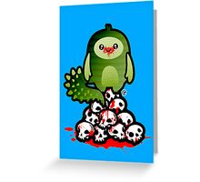 Devious Creatures Greeting Card