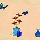Bottles and Butterflies by redqueenself