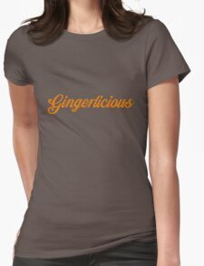 Gingerlicious Womens Fitted T-Shirt