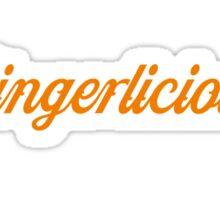 Gingerlicious Sticker