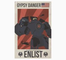 Gypsy Danger  Kids Tee
