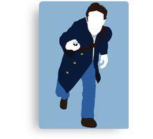 The Eighth Doctor - Doctor Who - Paul McGann (Dark Eyes) Canvas Print