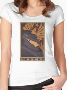 Pacific Rim - Gypsy Danger Women's Fitted Scoop T-Shirt