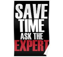 Save time ask the expert Poster