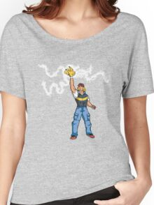 Poké-MAN: I HAVE THE PIKAAAAAAAA! Women's Relaxed Fit T-Shirt